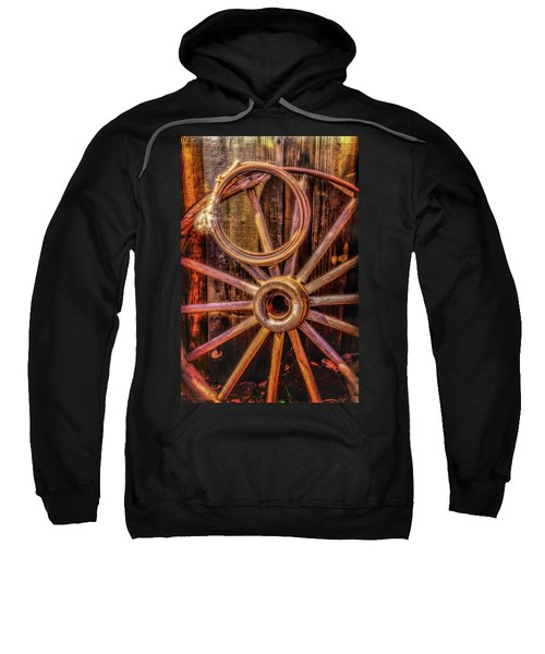 Old Wheel And Rope Sweatshirt