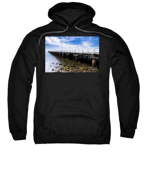 Old Wooden Pier Sweatshirt