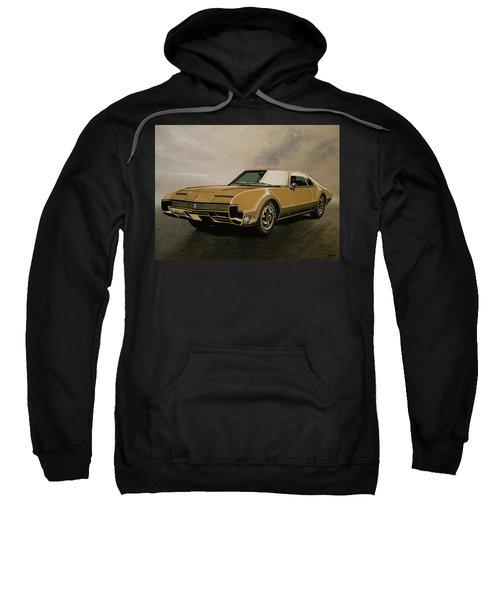 Oldsmobile Toronado 1965 Painting Sweatshirt