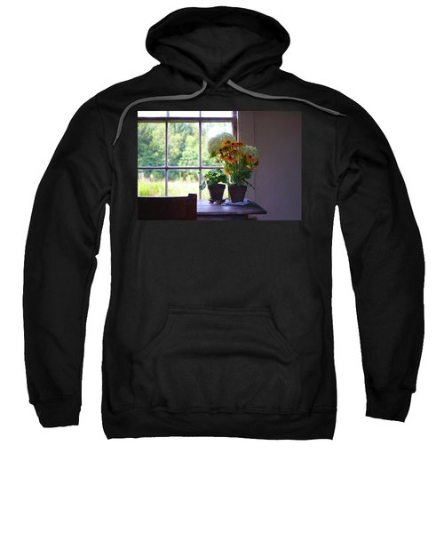 Olson House Flowers On Table Sweatshirt
