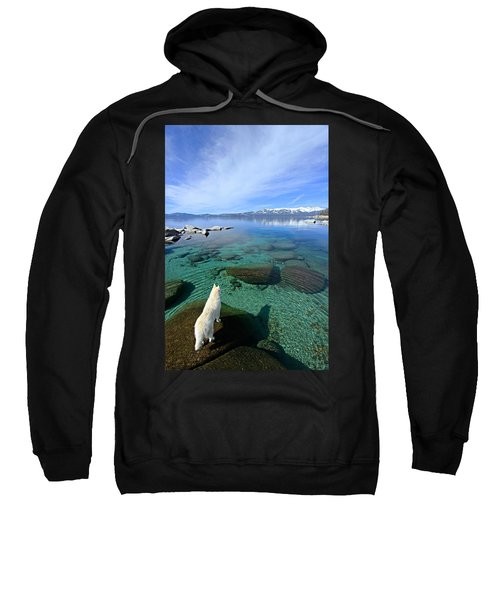 On A Clear Day You Can See Forever Sweatshirt