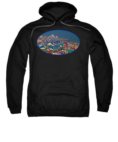 On The Beach In August Sweatshirt