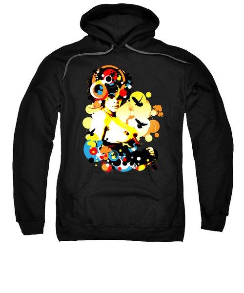 Onyx Doves Sweatshirt by Chris Andruskiewicz
