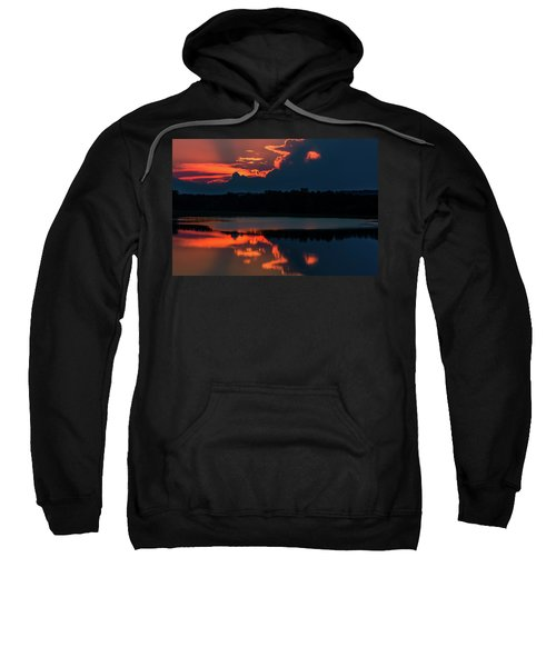 Orange Sky Sweatshirt
