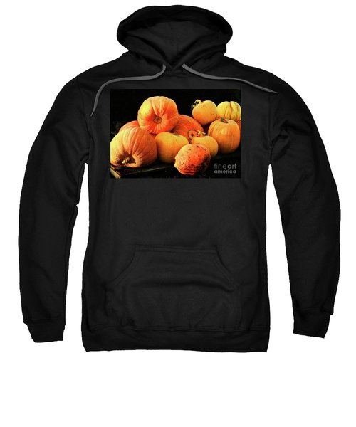 Orange Yellow Pumpkins Sweatshirt