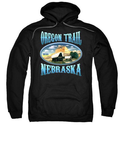 Oregon Trail Nebraska History Design Sweatshirt
