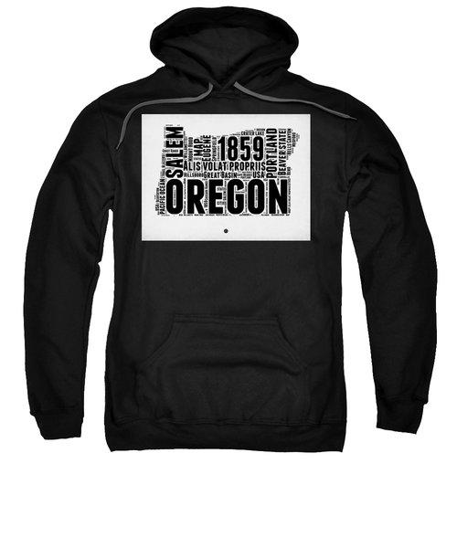 Oregon Word Cloud 1 Sweatshirt