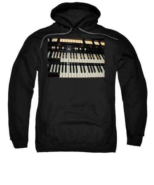 Hammond Organ Keys Sweatshirt