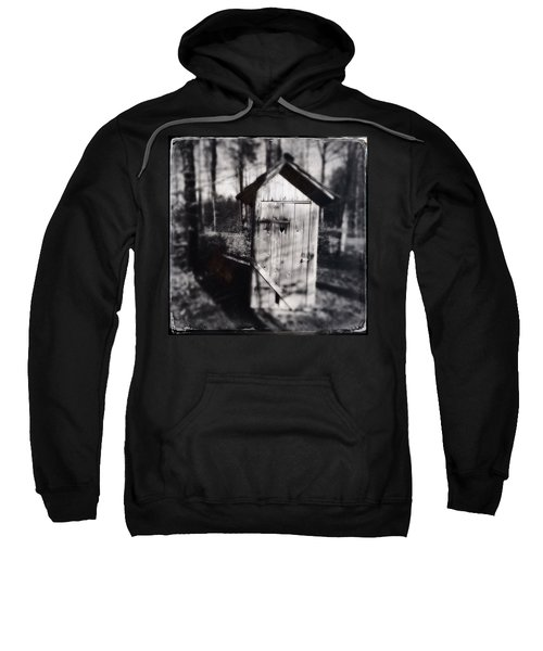 Outhouse Black And White Wetplate Sweatshirt