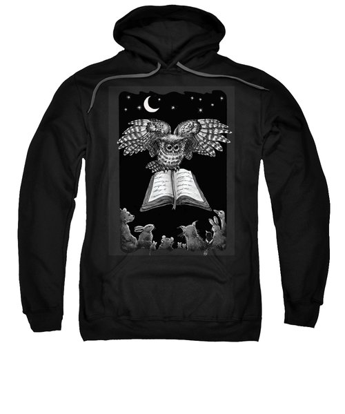 Owl And Friends Blackwhite Sweatshirt