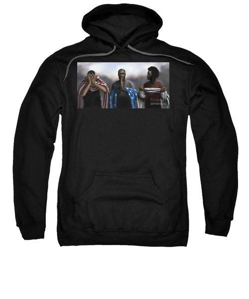 Pain, Prayer And Perseverance Sweatshirt