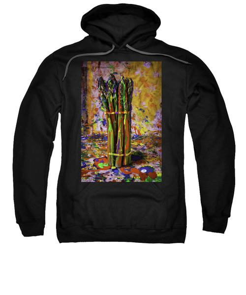 Painted Asparagus Sweatshirt