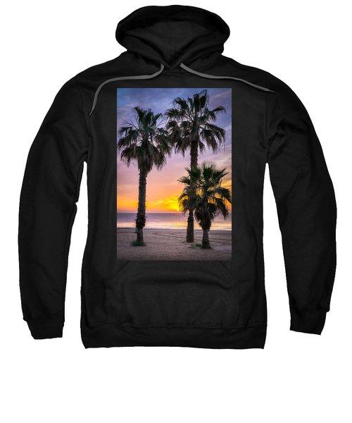 Palm Tree Sunrise. Sweatshirt
