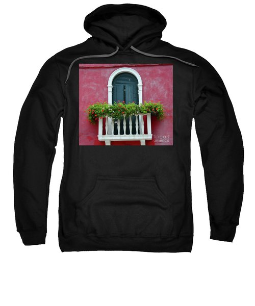 Pastel Colors Of Burano  Sweatshirt