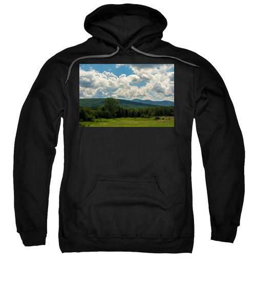 Pastoral Landscape With Mountains Sweatshirt