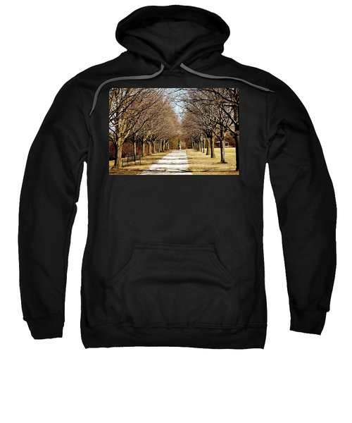 Pathway Through Trees Sweatshirt