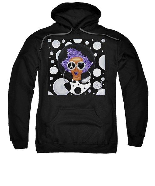 Peace, Love, Polka Dots Sweatshirt