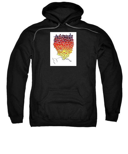 Pele Dreams Sweatshirt by Diane Thornton