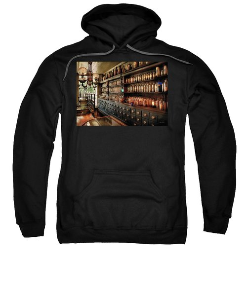 Pharmacy - So Many Drawers And Bottles Sweatshirt