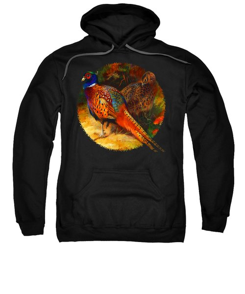 Pheasant Pair Sweatshirt