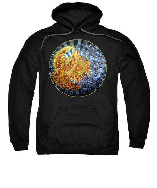 Phoenix And Dragon Sweatshirt