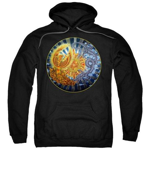 Phoenix And Dragon Sweatshirt