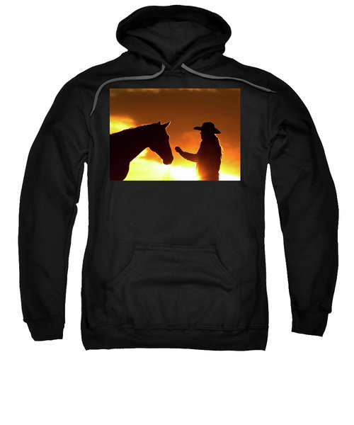 Cowgirl Sunset Sihouette Sweatshirt
