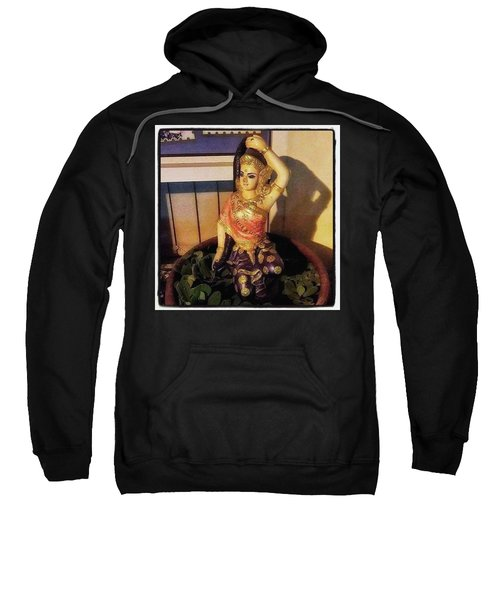 Sweatshirt featuring the photograph Phra Mae Thorani. Holy Mother Of Earth by Mr Photojimsf