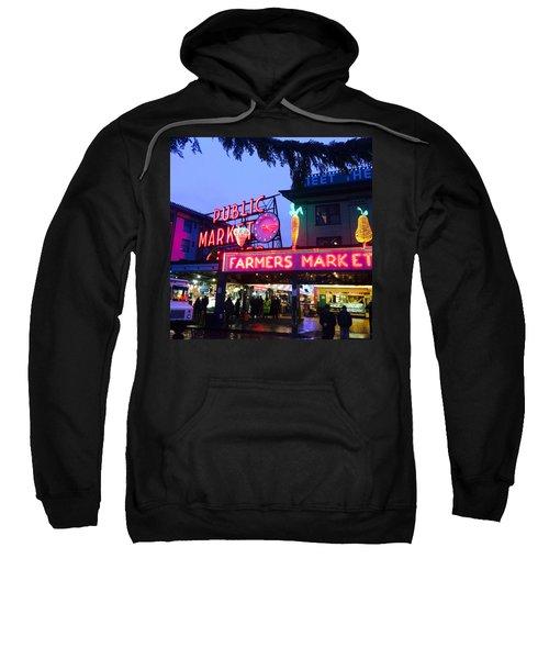 Pike Place Market Sweatshirt by Anthony Grayson
