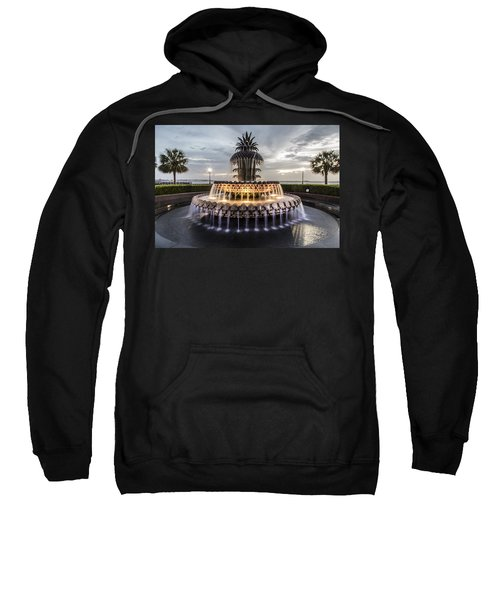 Pineapple Fountain Charleston Sc Sweatshirt