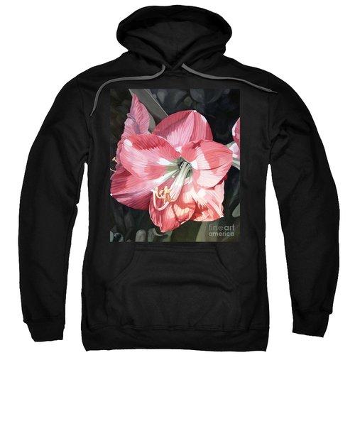 Pink Amaryllis Sweatshirt
