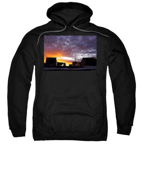 Pioneer Town Sunset Sweatshirt