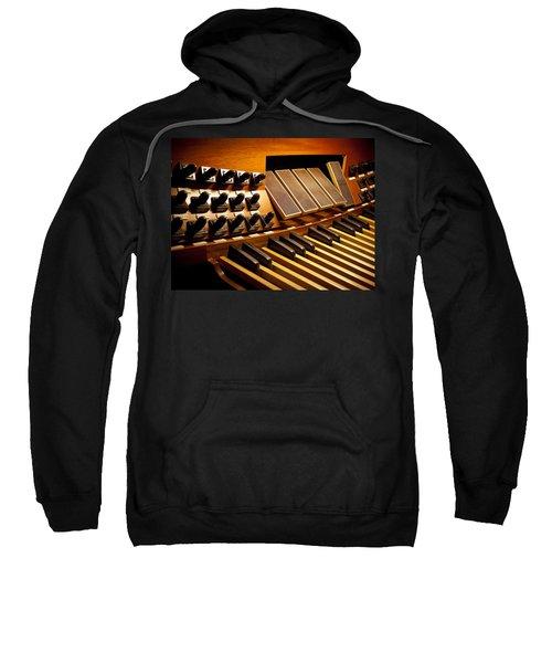 Pipe Organ Pedals Sweatshirt