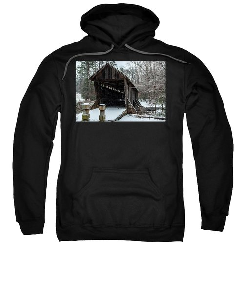 Pisgah Covered Bridge - Modern Sweatshirt