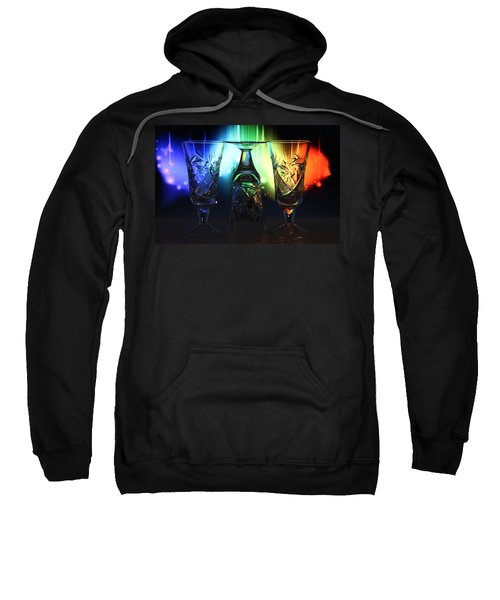 Play Of Glass And Colors Sweatshirt