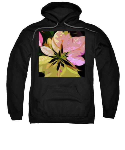 Poinsettia Tile Sweatshirt