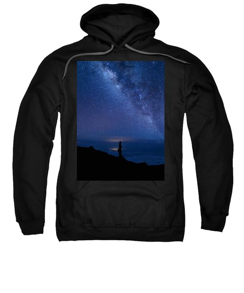 Pointing To The Heavens Sweatshirt