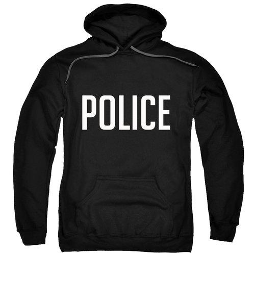 Police Tee Sweatshirt