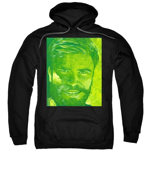 Portrait In Green Sweatshirt