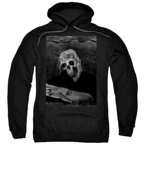 Portrait Of A Zombie Sweatshirt