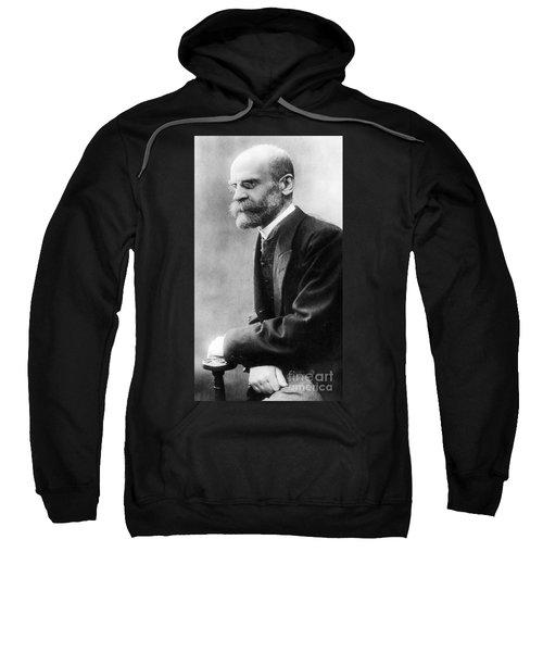 Portrait Of Emile Durkheim Sweatshirt