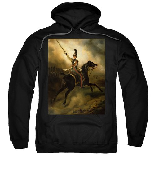 Portrait Of Friedrich Heinrich Sweatshirt