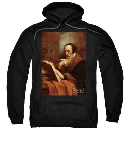Portrait Of Jean Calvin Sweatshirt