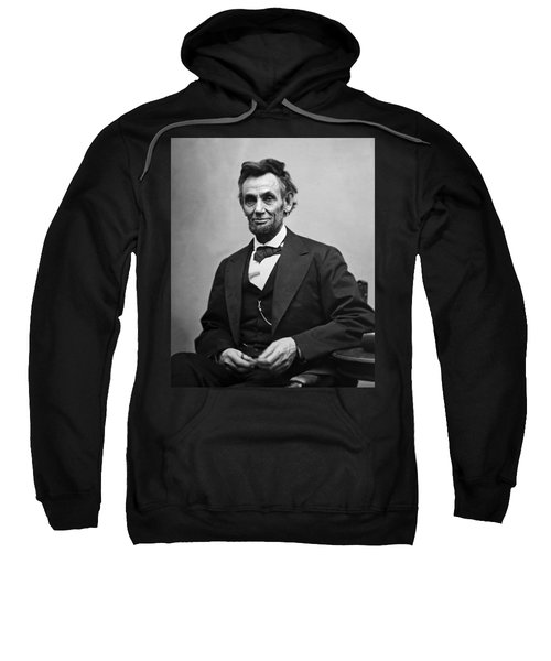 Portrait Of President Abraham Lincoln Sweatshirt
