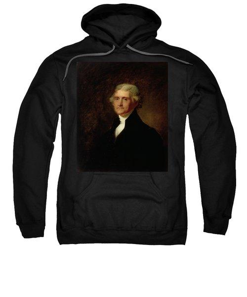 Portrait Of Thomas Jefferson Sweatshirt