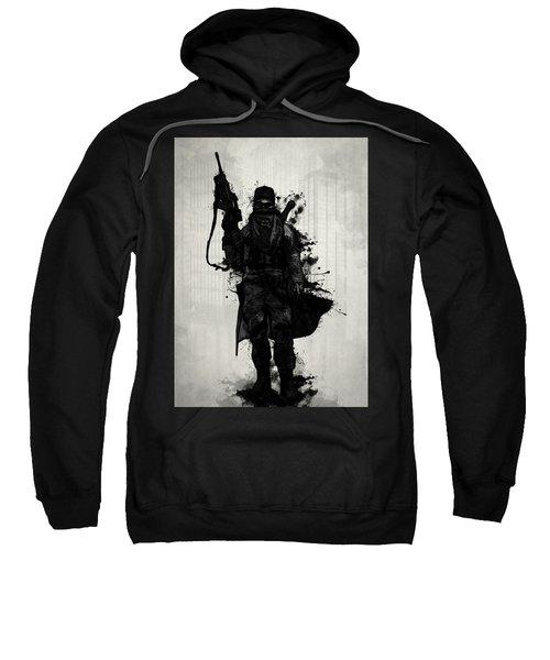Post Apocalyptic Warrior Sweatshirt
