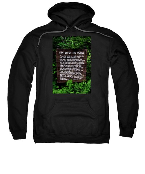 Prayer Of The Woods Sweatshirt
