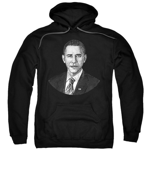 President Barack Obama Graphic Sweatshirt by War Is Hell Store