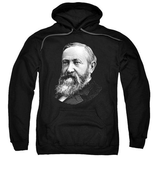 President Benjamin Harrison Graphic Sweatshirt
