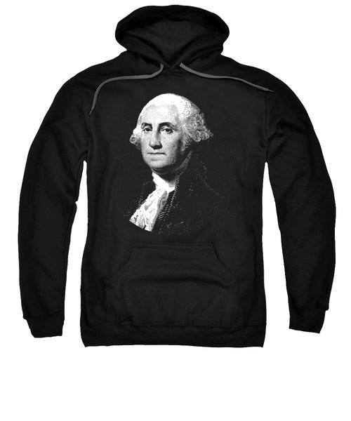 President George Washington Graphic  Sweatshirt by War Is Hell Store